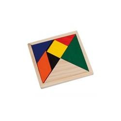 Pack de 25 puzzles de madera grabados a láser